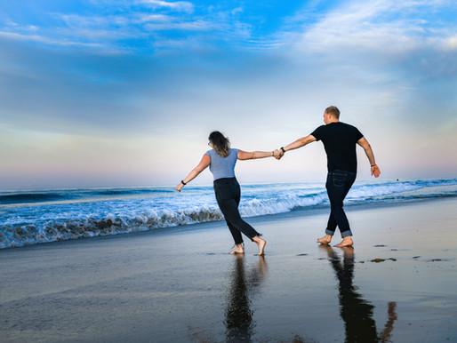 Beach Engagement / Coltan + Tayla / Newport Beach, California