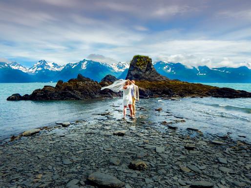 Intimate & Remote Alaskan Elopement / Nida & Domantas / Seward, AK