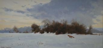 Winter Fox  18 x 28 cm.jpg