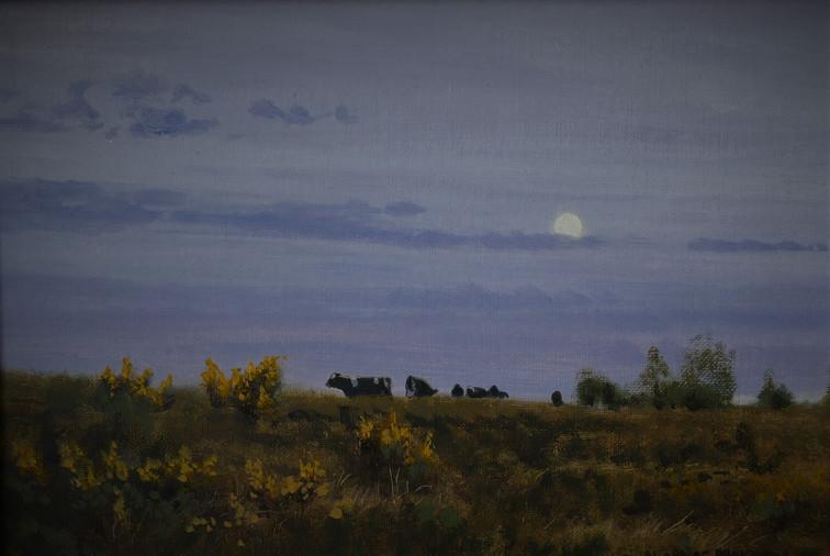 Moonlit Cattle