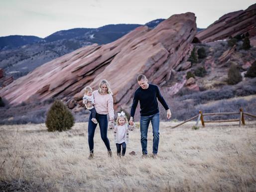 Denver Family Photo Session at Red Rocks Park & Amphitheater / Derner Family / Morrison, CO