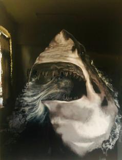 Great-White-Shark-Mural-Painting-Luxury-