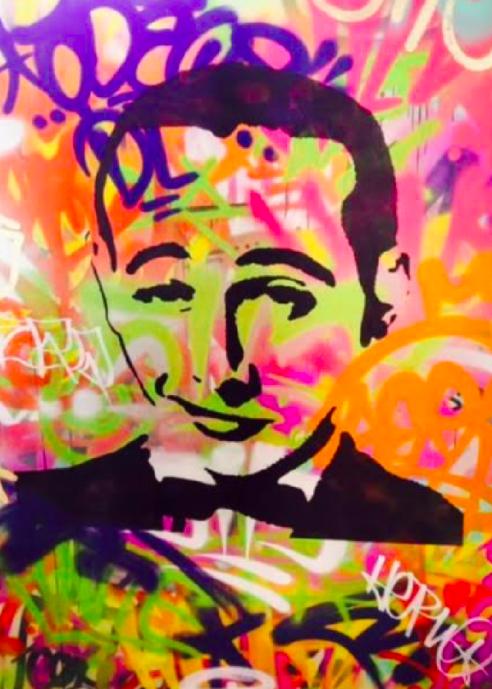 Mr-Peeples-Pee-Wee-Hermann-Graffiti-Mura