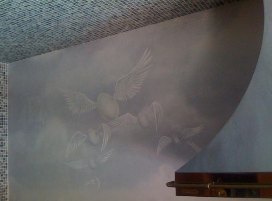 Flying-Egg-Mural-Bachman-Residence-Luxur