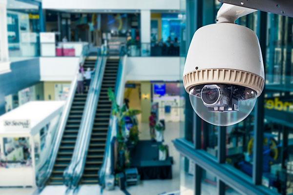 Videosurveillance grande surface