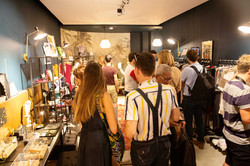 Vernissage pop-up store