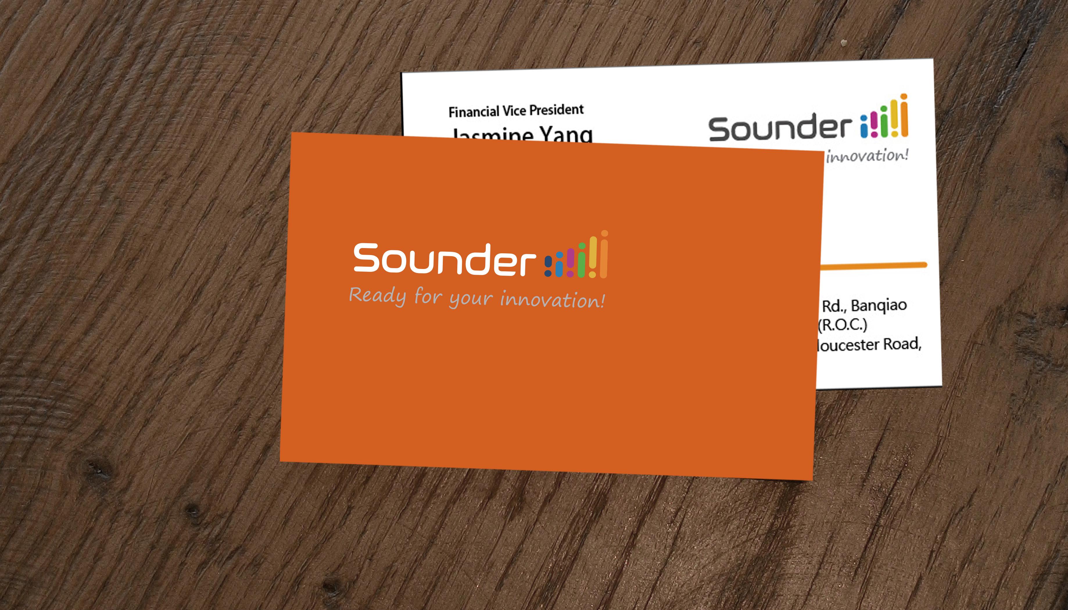 Sounder Logo and VI design