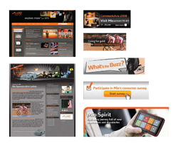 Web design and Banner Ads