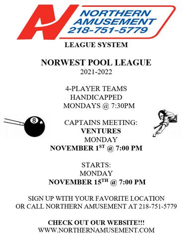 Norwest Pool League