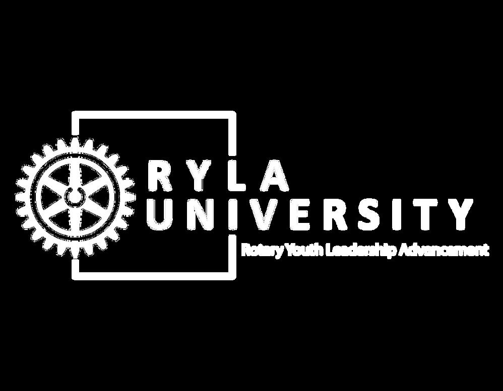 RYLA university logo original white tran