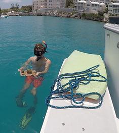 snorkler and tile.JPG