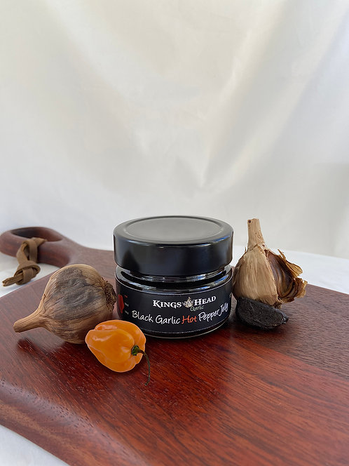 Black Garlic HOT Pepper Jelly
