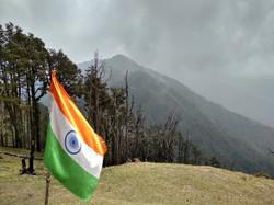 At summit