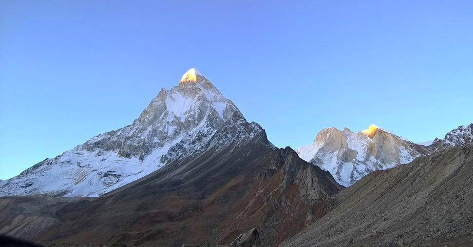 The magnificient - Mt. Shivling