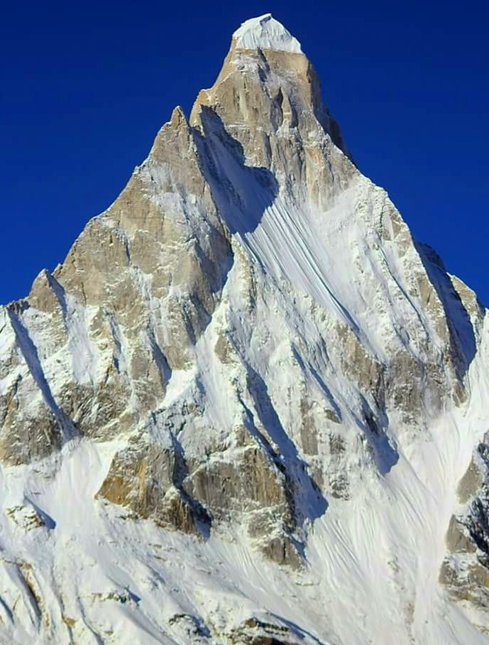 Mt.Shivling - close up