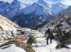 Manida lake & Jamdar Glacier