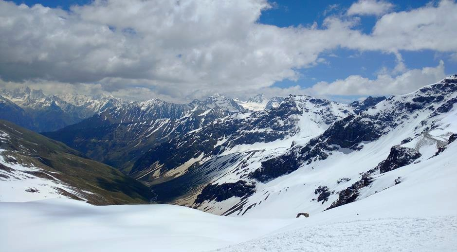 View of Kinnaur Kailash