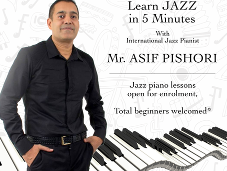 Jazz piano open for enrolment!