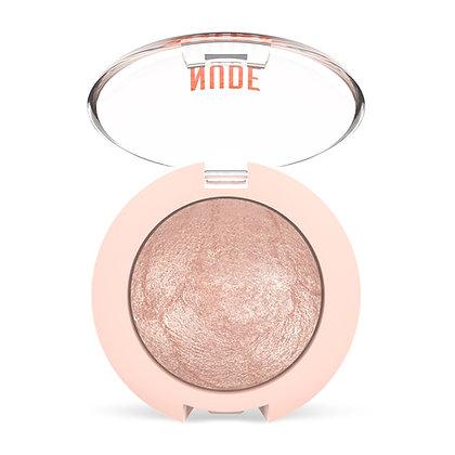 GR Nude Look Matte & Pearl Baked Eyeshadow - Pearl 01 - Ivory
