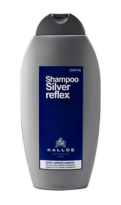 KALLOS Șampon colorant argintiu 350 ml