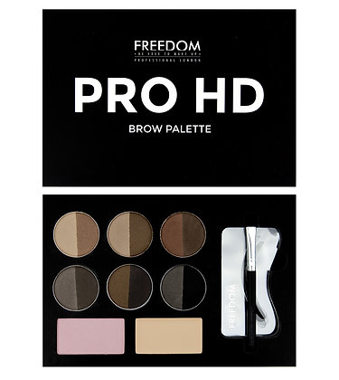 Freedom Pro HD Brow Palette - Medium Dark