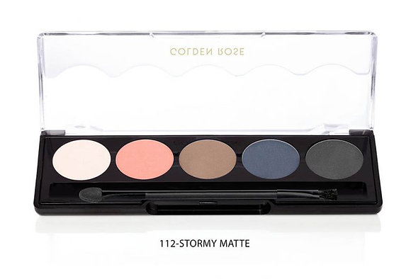 112 -  Stormy Matte Line Palette