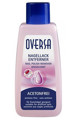 OVERSA Nail-Polish Remover Contains Oil - 125 ml