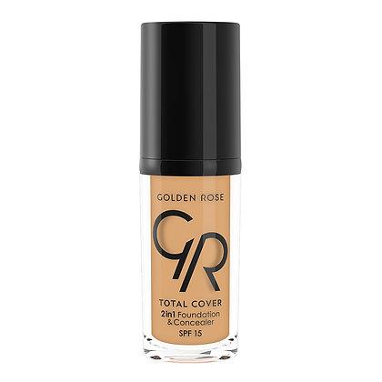 GR Total Cover 2in1 Foundation & Concealer - 14 Honey