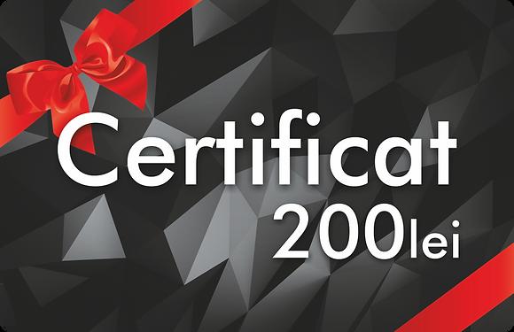 Certificat 200 MDL