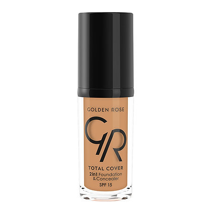GR Total Cover 2in1 Foundation & Concealer -19 Caramel