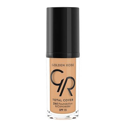 GR Total Cover 2in1 Foundation & Concealer - 13 Natural Tan