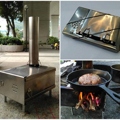 Wood stove -- fire box