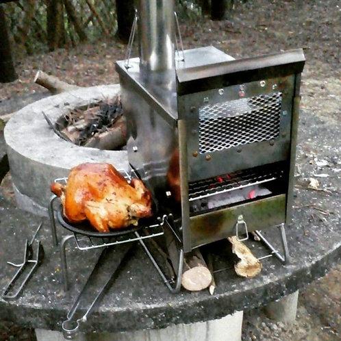 Wood stove Y