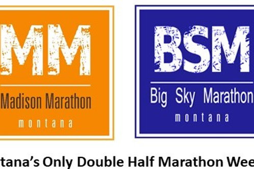 A World Gone Mad for Marathons and entry to MM and BSM Double Half Marathon
