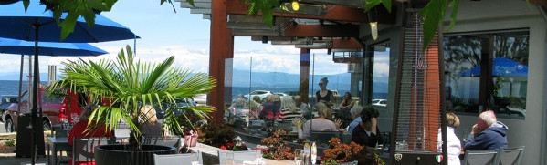 Qualicum Beach Cafe Heated Patio