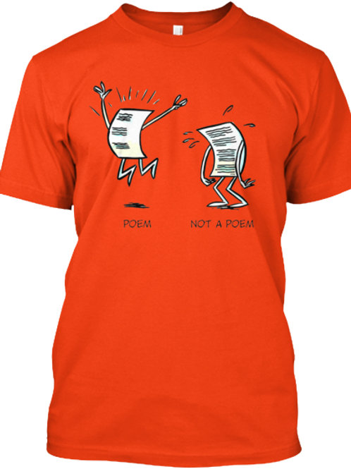 Poetry Dilemma Tee by Realistic Poetry International