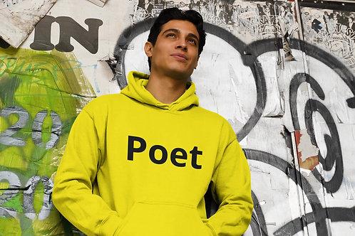 Poet Unisex College Hoodie
