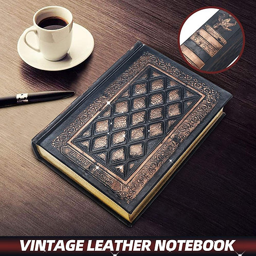 Retro Vintage Poetry Journal Diary Notebook
