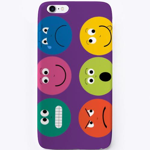 Poetry Emoji iPhone Case by Realistic Poetry International