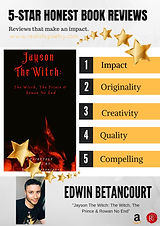 The story of Jayson The Witch is full of vivid imagery and tantalizing suspense.