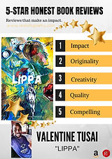 """LIPPA"" by Valentine Tusai is a charming collection of work that takes its readers through an..."