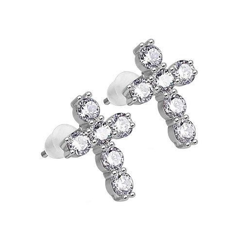 Mister Crucis Refrain Earrings - 925