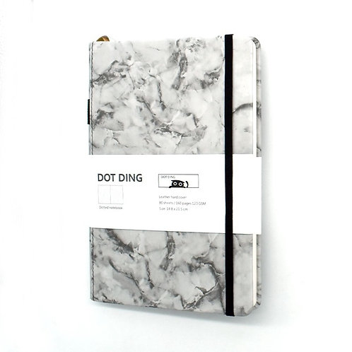 A5 Creative Marble Designer Poetry Journal Pu Leather