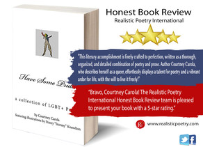 Courtney Carola's 'Have Some Pride' receives a 5-star book review!