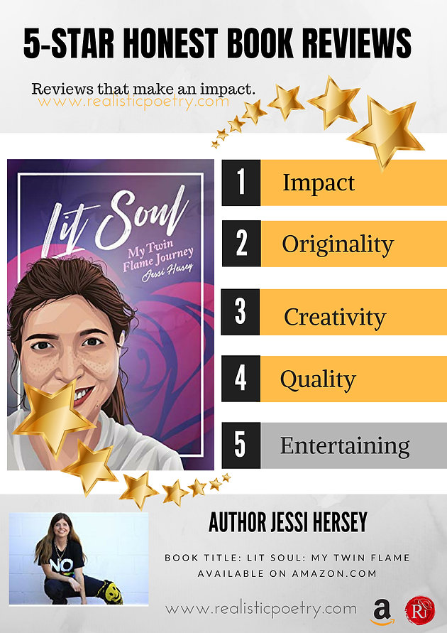 Author Jessi Hersey's 'Lit Soul: My Twin Flame Journey' is an