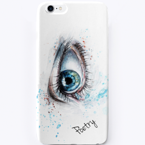 Eye of a Poet iPhone Case by Realistic Poetry International