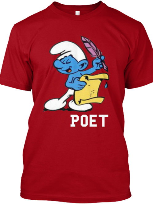 Smurf Poet Tee by Realistic Poetry International