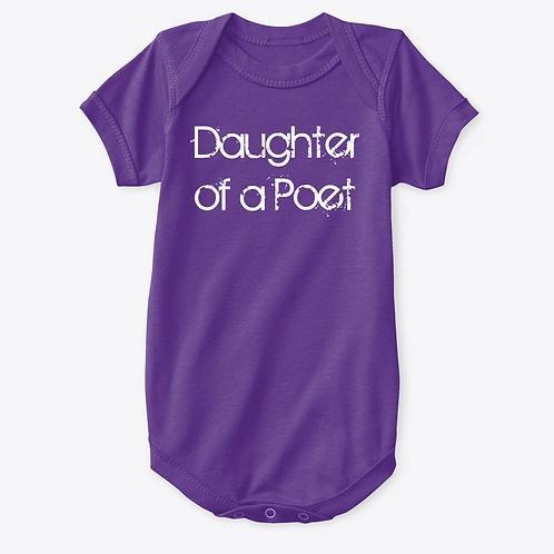Daughter of a Poet Onesie