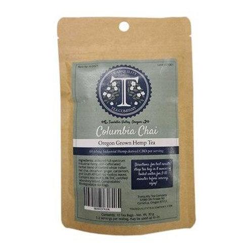 Tranquility Tea Company - CBD Tea - Columbia Chai - 600mg-650mg