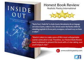 Martin Foroz' s 'Inside Out' is a 5-star Poetry Book and a Psychological Thrill!